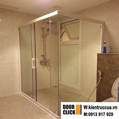 cabin tắm ghép góc