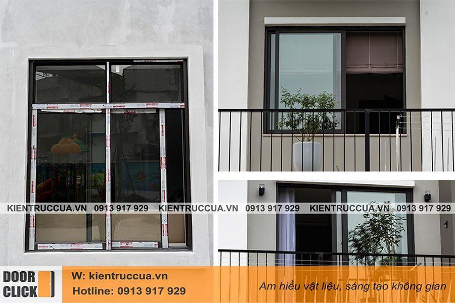 Cửa sổ lùa nhôm Xingfa