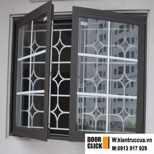 cửa sổ nhôm cầu cách nhiệt xingfa