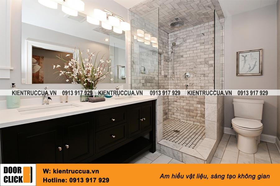Gương Bỉ lắp phòng tắm