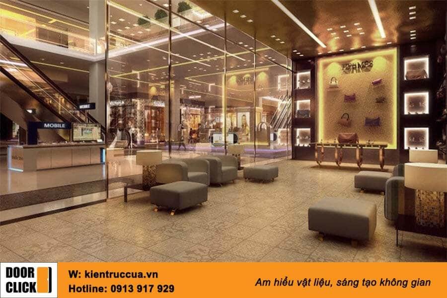 Gương Bỉ lắp cho shop thời trang
