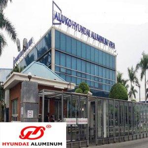 Hệ vách dựng nhôm Huyndai