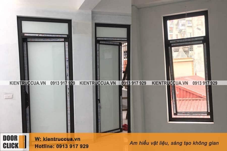 Cửa đi và cửa sổ mở hất hệ PMA 55