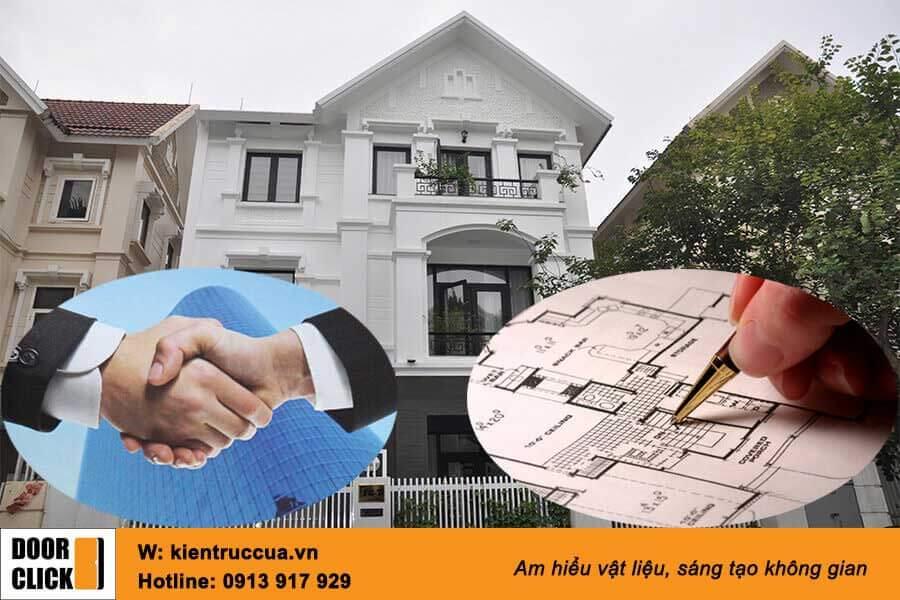Hợp tác thiết kế kiến trúc và lắp dựng thi công