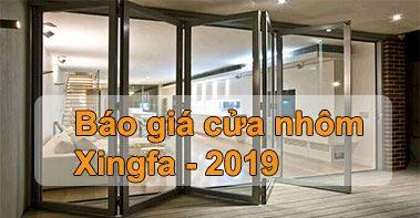 Bao gia cua nhom xingfa 2019
