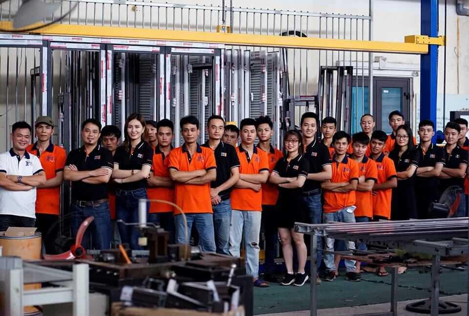Tập thể cán bộ công nhân của Doorclick
