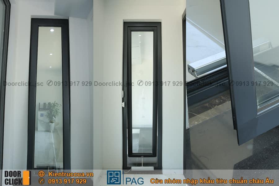 Cửa sổ mở hất nhôm PAG