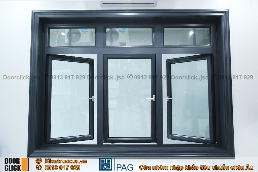 Cửa sổ mở quay nhôm PAG